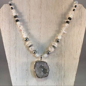 Jewelry - Quartz Beaded Power Piece